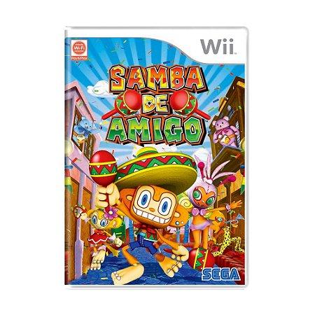 Jogo Samba de Amigo - Wii