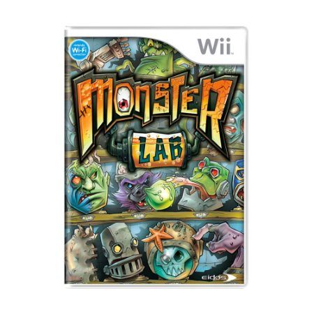 Jogo Monster Lab - Wii
