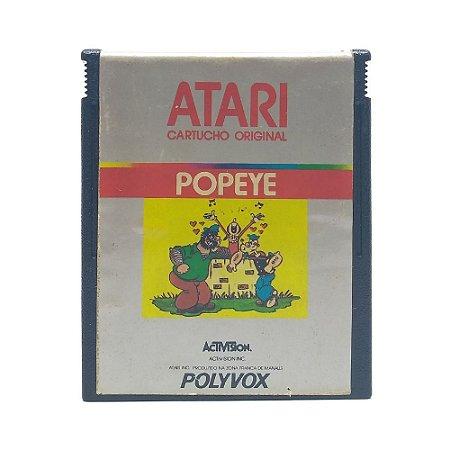Jogo Popeye - Atari