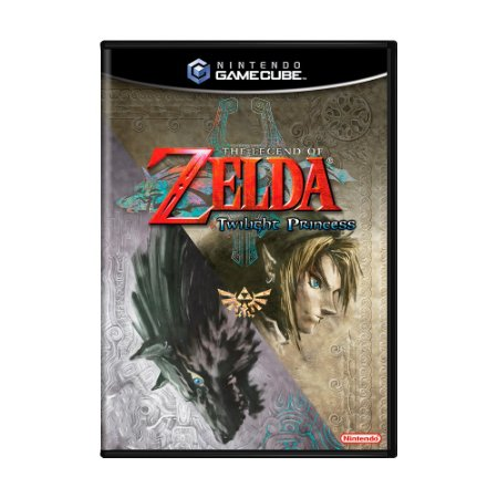 Jogo Zelda Twilight Princess - GC - GameCube