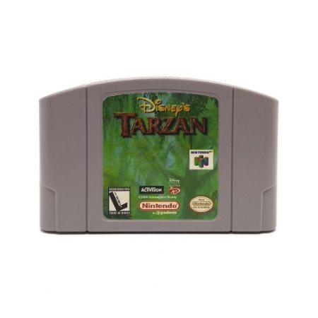 Jogo Tarzan - N64