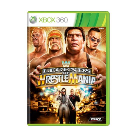 Jogo WWE: Legends of WrestleMania - Xbox 360