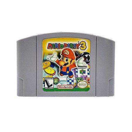 Jogo Mario Party 3 - N64