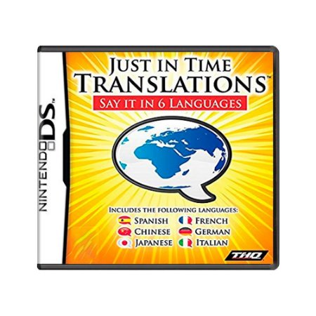 Jogo Just in Time: Translations - DS