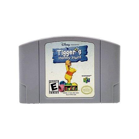 Jogo Tigger's Honey Hunt - N64