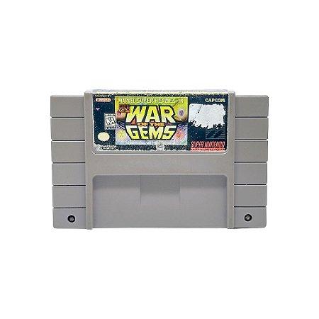 Jogo Marvel War of The Gems - SNES