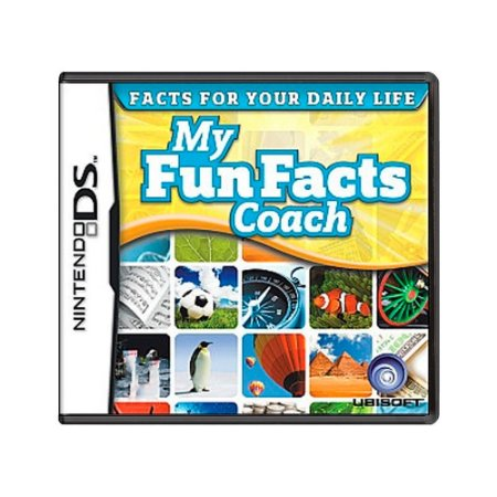 Jogo My Fun Facts Coach - DS