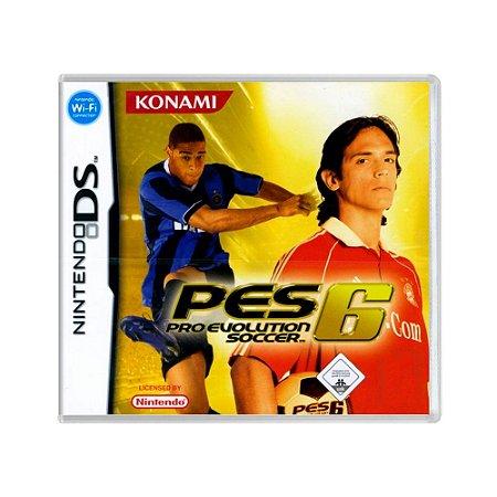 Jogo Pro Evolution Soccer 6 (PES 06) - DS