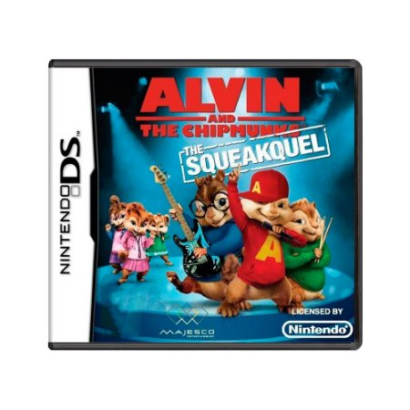 Jogo Alvin and The Chipmunks: The Squeakquel - DS