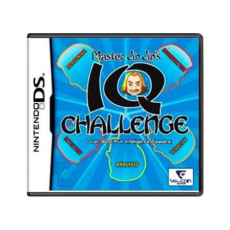 Jogo Master Jin Jin's IQ Challenge - DS