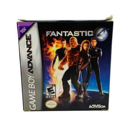 Jogo Fantastic 4 - GBA - Game Boy Advanced
