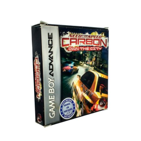 Jogo Need For Speed Carbon: Own The City - GBA - Game Boy Advanced