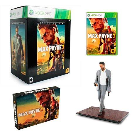 Jogo Max Payne 3 (Special Edition) - Xbox 360