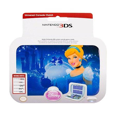 Case Nintendo 3DS Azul Princesa Disney - Nintendo 3DS, 3DS XL, DSi e DS Lite