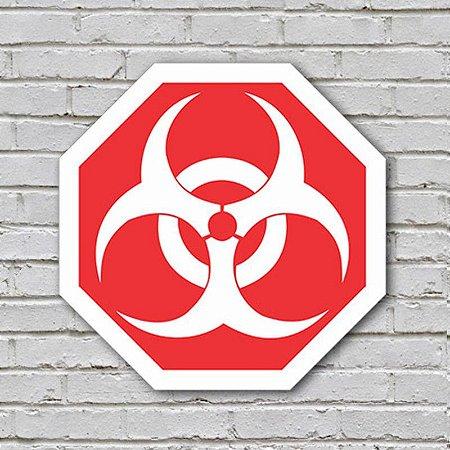 Placa De Parede Decorativa: Biohazard