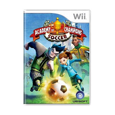 Jogo Academy of Champions: Soccer - Wii