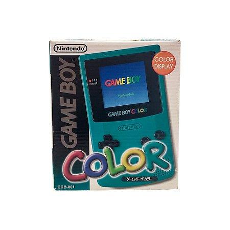 Console Game Boy Color Teal - Nintendo