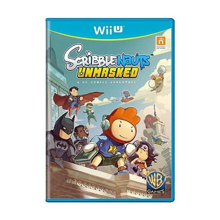 Jogo Scribblenauts Unmasked - Wii U