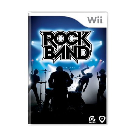 Jogo Rock Band - Wii