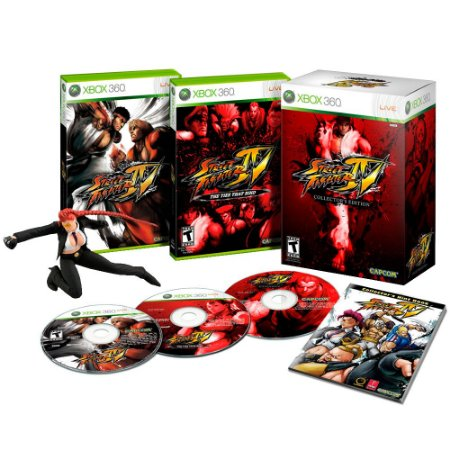Jogo Street Fighter IV (Collector's Edition) - Xbox 360