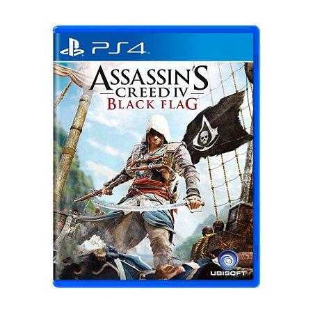 Jogo Assassin's Creed IV: Black Flag - PS4