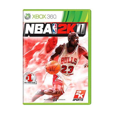 Jogo NBA 2K11 - Xbox 360