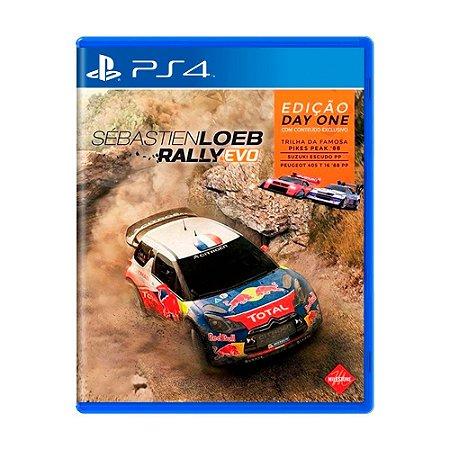 Jogo Sébastien Loeb Rally Evo (Edição Day One) - PS4