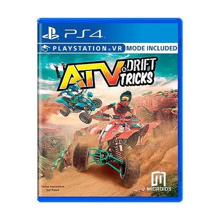 Jogo ATV: Drift & Tricks - PS4