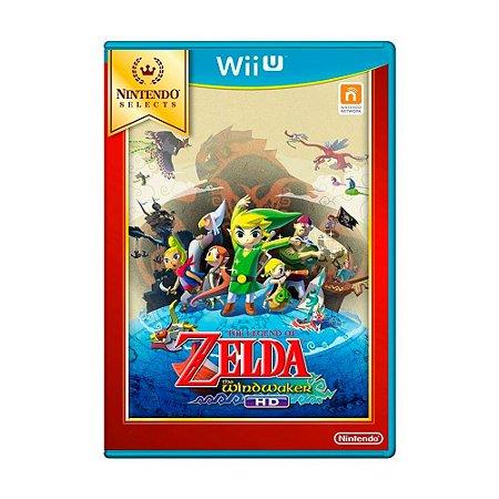 Jogo The Legend of Zelda: Wind Waker HD - Wii U