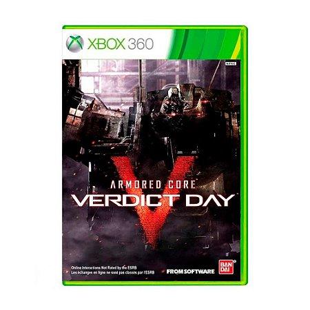 Jogo Armored Core: Verdict Day - Xbox 360