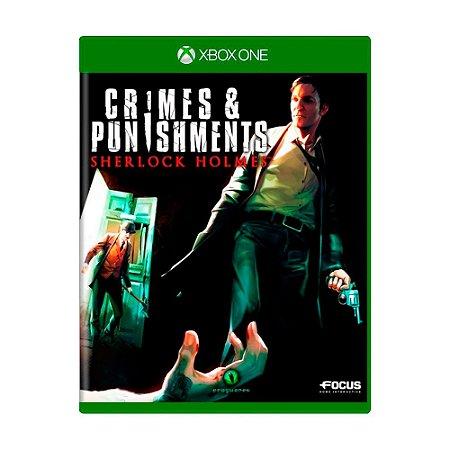 Jogo Sherlock Holmes: Crimes & Punishments - Xbox One