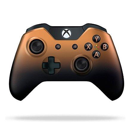 Controle Microsoft Copper Shadow sem fio - Xbox One
