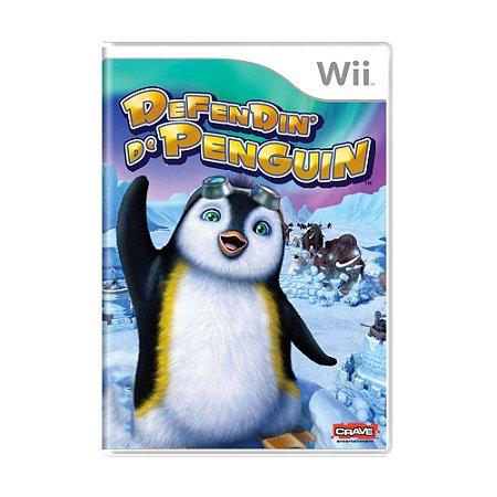 Jogo Defendin' de Penguin - Wii