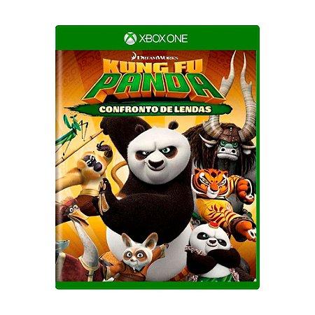 Jogo Kung Fu Panda: Confronto de Lendas - Xbox one