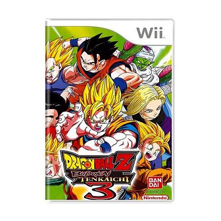 Jogo Dragon Ball Z: Budokai Tenkaichi 3 - Wii