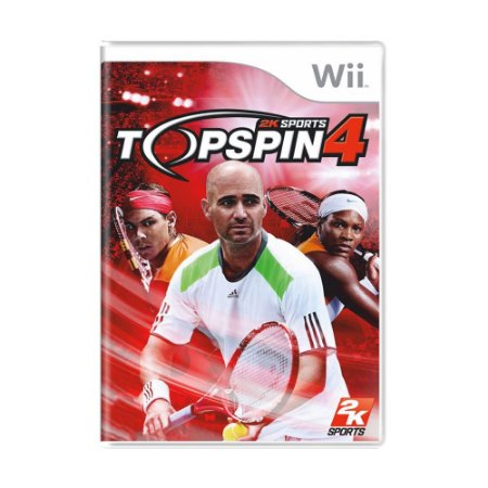 Jogo Top Spin 4 - Wii