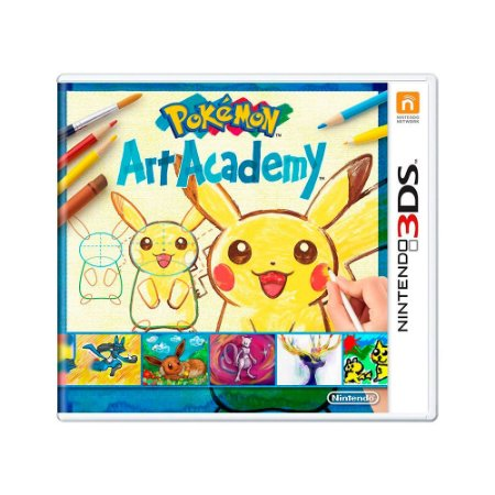 Jogo Pokémon Art Academy - 3DS