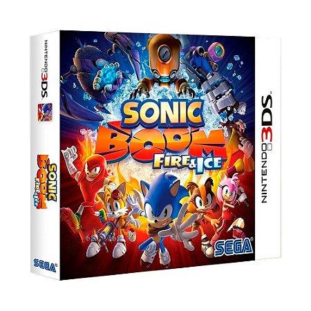 Jogo Sonic Boom: Fire & Ice - 3DS