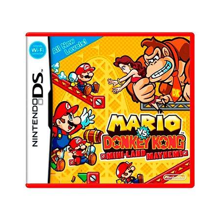 Jogo Mario vs. Donkey Kong: Mini-Land Mayhem - DS