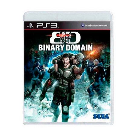 Jogo Binary Domain - PS3