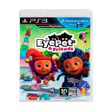 Jogo Eyepet & Friends - PS3