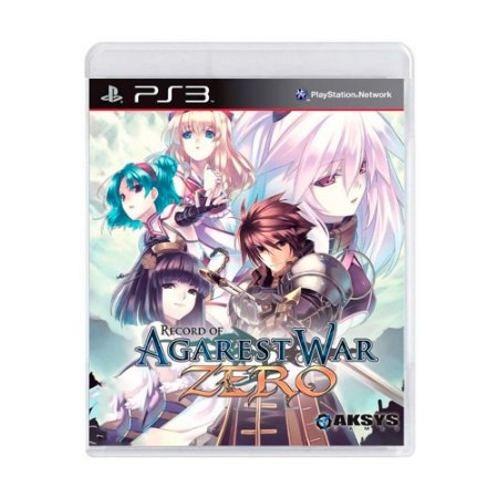 Jogo Record of Agarest War Zero - PS3