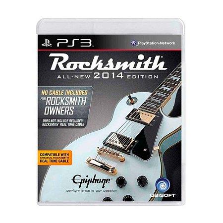 Jogo Rocksmith 2014 (Apenas Jogo) - PS3