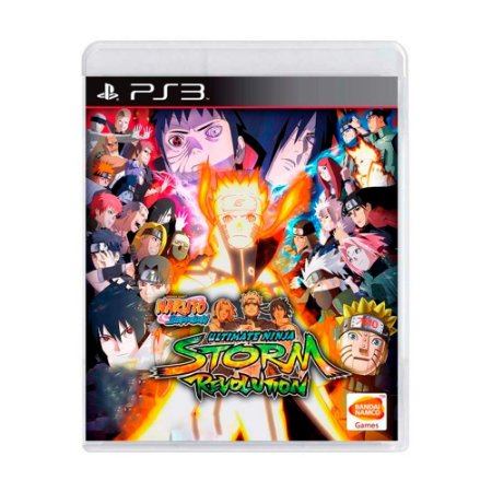 Jogo Naruto Shippuden: Ultimate Ninja Storm Revolution - PS3