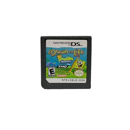 Jogo Drawn to Life: SpongeBob SquarePants Edition - DS