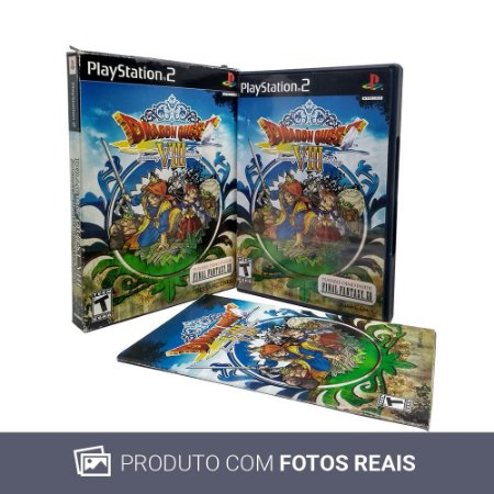Jogo Dragon Quest VIII: Journey of the Cursed King - PS2