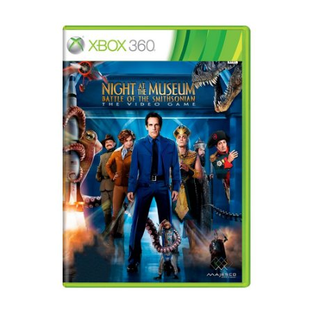 Jogo Night at The Museum Battle of the Smithsonian - Xbox 360