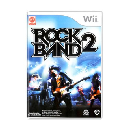 Jogo Rock Band 2 - Wii