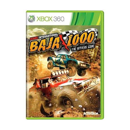 Jogo SCORE International Baja 1000 - Xbox 360