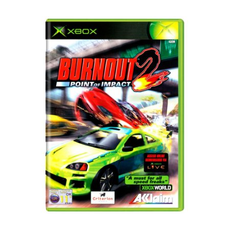 Jogo Burnout 2: Point of Impact - Xbox 360